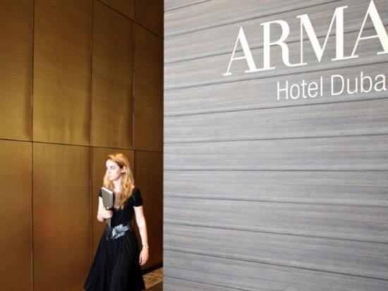 ג'ורג'יו ארמני, דובאי, מלון, אופנה, עיצוב פנים / צילום: רויטרס